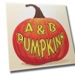 A&B Pumpkins Logo Design
