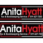 Anita Hyatt Logo Designs