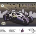 Illustrated Batmobile Poster By Scott