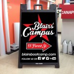 Blairs' Campus Sign Design