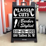 Classic Cuts Sign Design