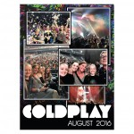 Coldplay Collage Poster Design