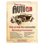 Kent Historical Auto Club Poster Design