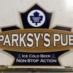 Parksy's Pub (Man-Cave Sign)