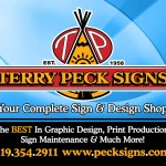 Peck Signs 2016 Promotional Piece