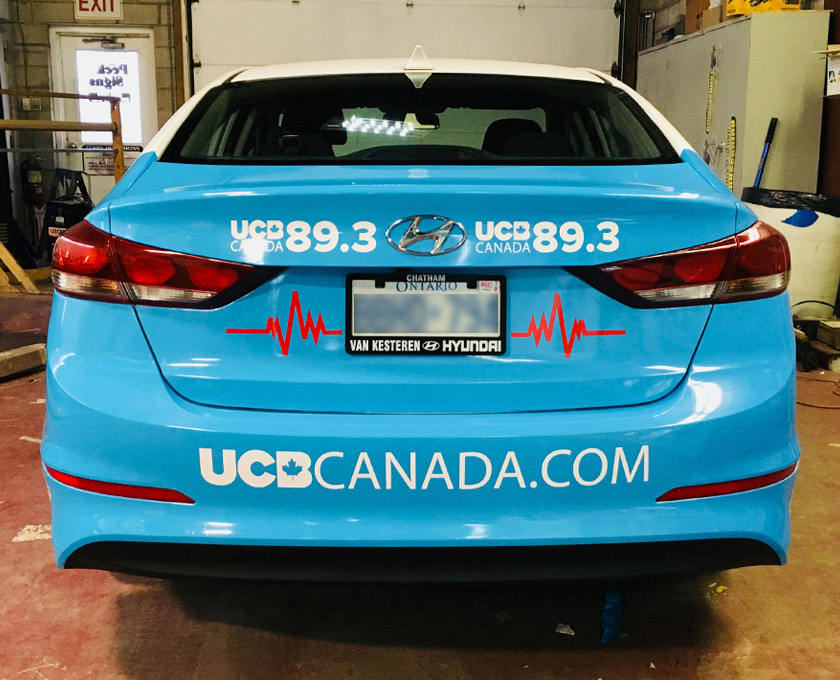 2c586c3694 Vehicle Decals   Branding « Terry Peck Signs Chatham Ontario